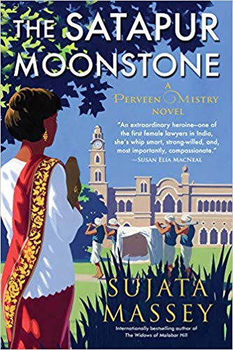 Sujata Massey: The Satapur Moonstone – Aunt Agatha's